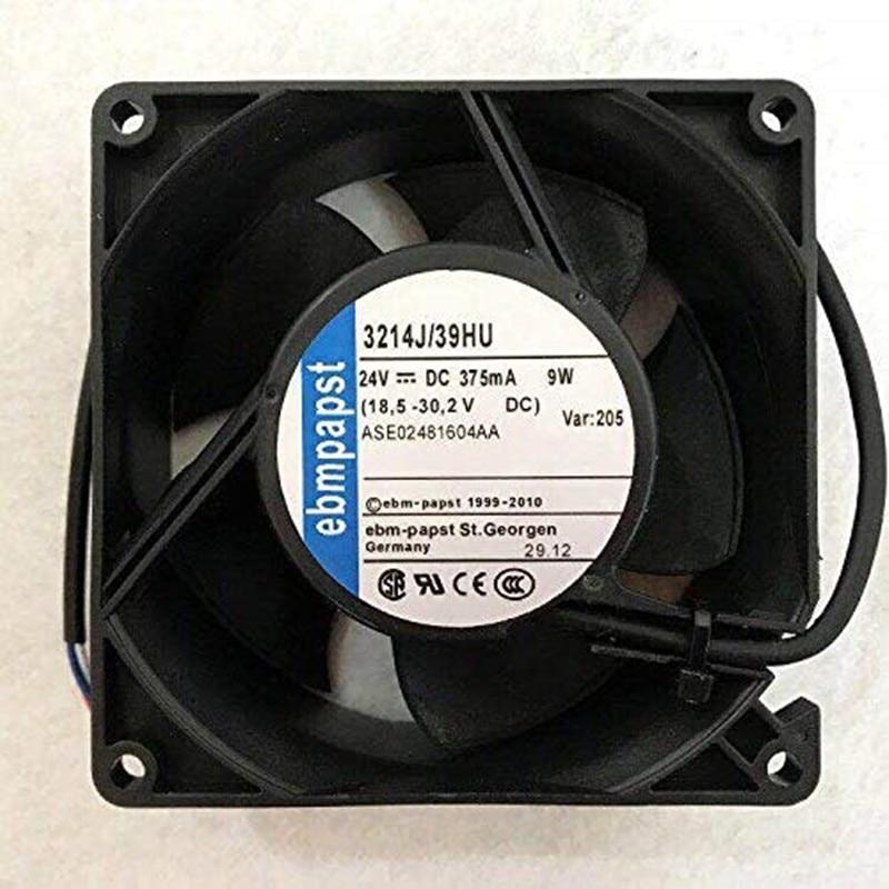 Ventilador de equipo de gama alta 3214J/39HU 24V 375MA 9W genuino 9CM 6 meses de garantía