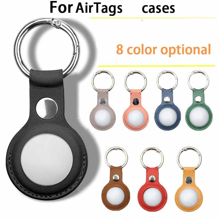 For Apple Airtags Durable Silicone Protective Sleeve For Apple Locator Tracker Anti-lost Device Keychain Protective Sleeve