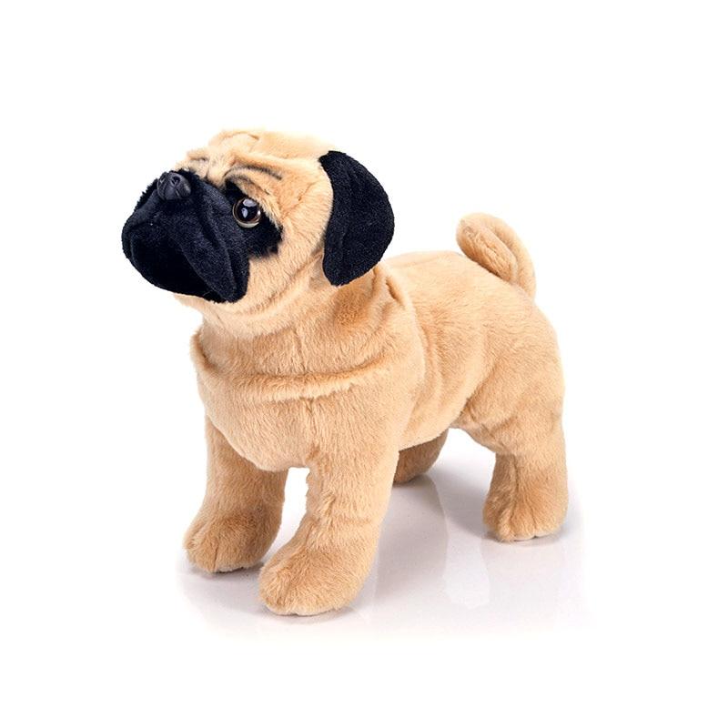 Simulation Plush pug dog soft stuffing dolls animal plush toys children gift