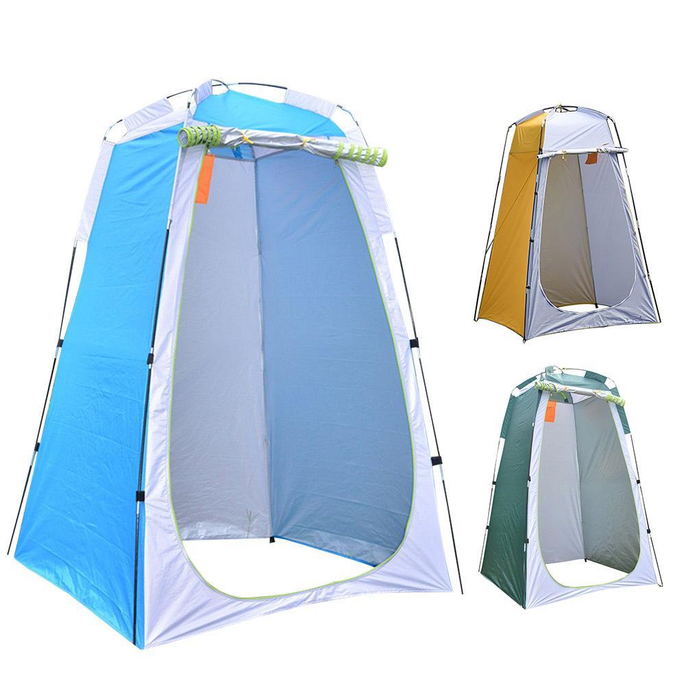 خيمة الخصوصية المحمولة Pop ، مأوى خارجي للتخييم ، دش ، غرفة تغيير ، خيمة خاصة للتخييم ، المرحاض ، الشاطئ