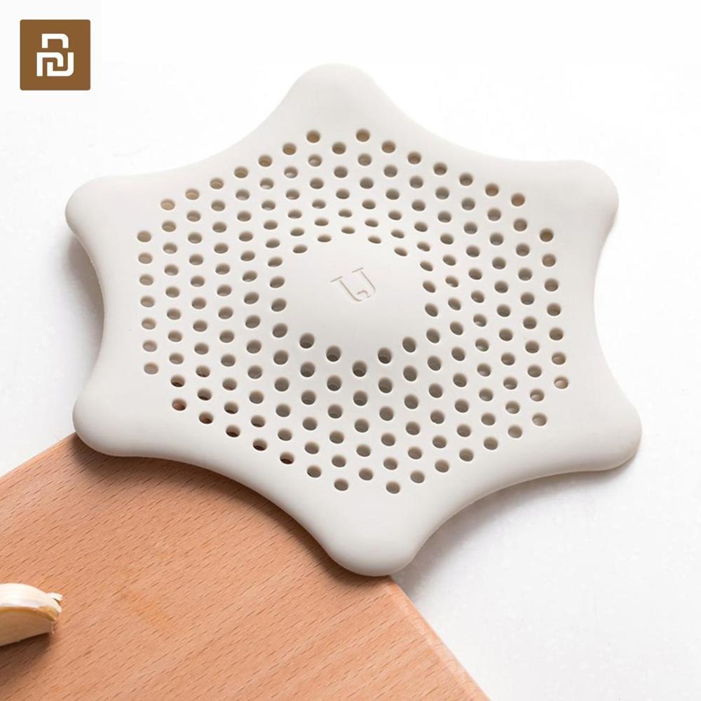 Filtro de silicona Youpin Jordan & Judy, limpieza de misceláneas, fuerte adsorción, fácil de limpiar, filtro fino de silicona para ojales