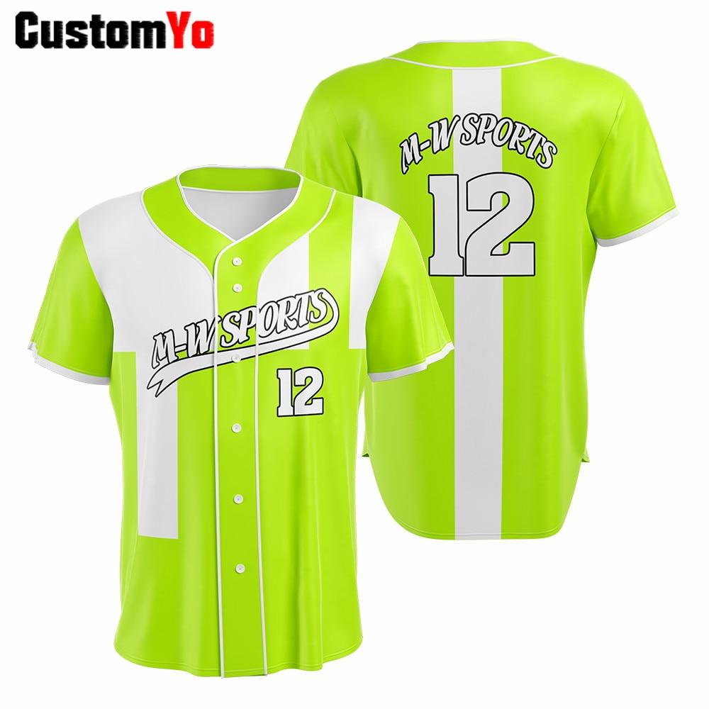 Camisetas de béisbol de Club personalizadas profesionales, Camiseta de manga corta, Camiseta de béisbol para hombre, Camiseta de béisbol, Camiseta de béisbol