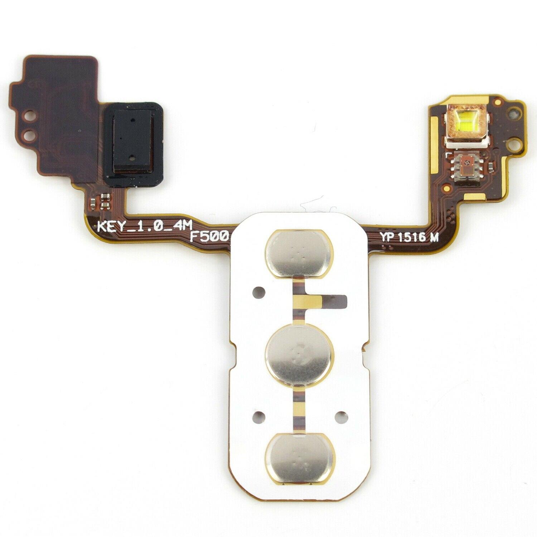 Interruptor de volumen de alimentación Botón de tecla Cable flexible para LG...