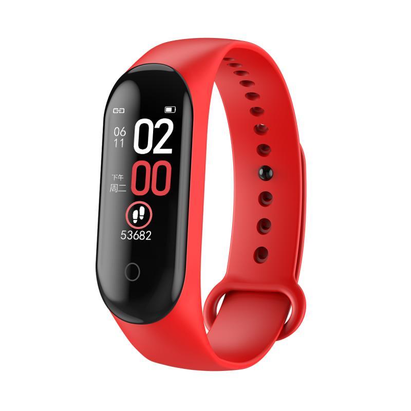 2019 New M4 Smart Band Wristband Blood Pressure/Heart Rate Monitor/Pedometer Sports Bracelet Health Fitness Bracelet