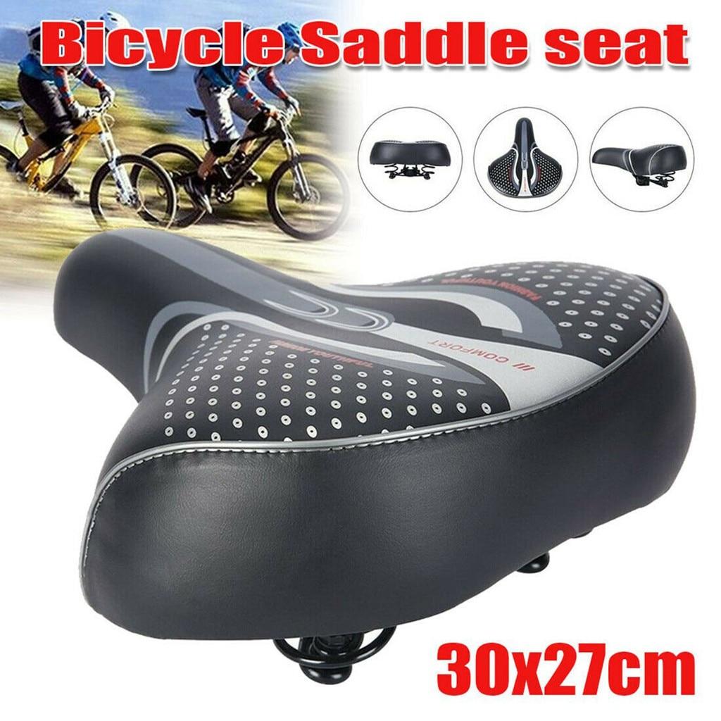 Велосипедное седло для мотоцикла, удобное ультраширокое велосипедное седло с гелевой подкладкой, спортивное седло, амортизирующее удобное сиденье