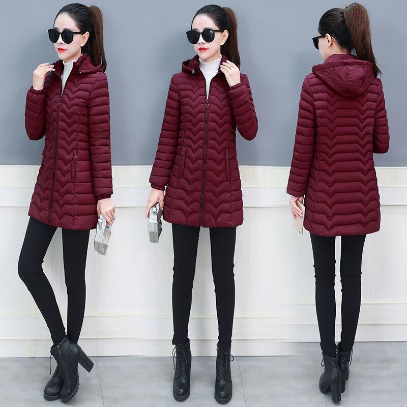 Женская зимняя куртка, женские парки, женские парки, зимнее плотное пальто 2020, женская уличная одежда с капюшоном, Chaqueta