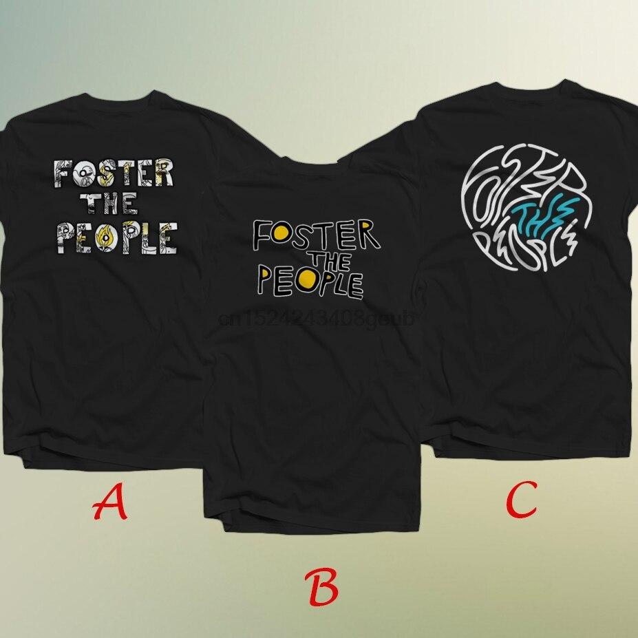 Camiseta de algodón para hombre Foster The People American alternativo Rock Band 100%