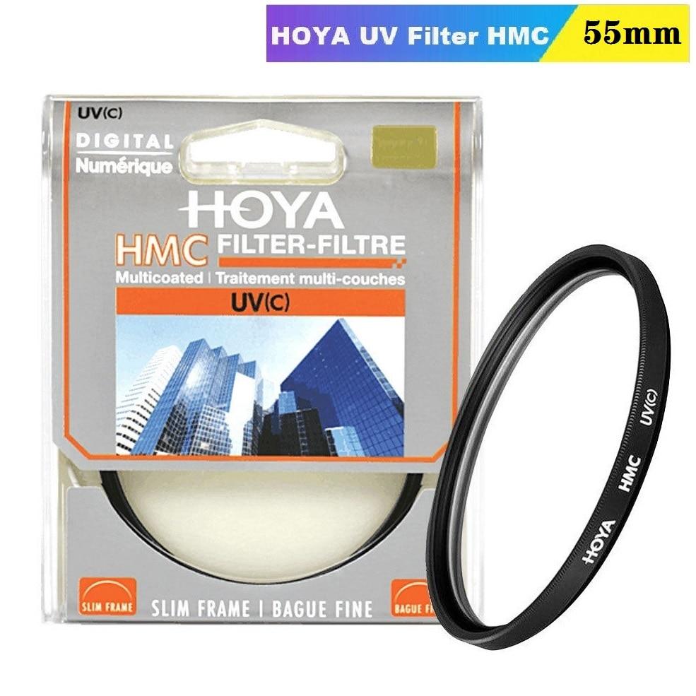 pro1 d super slim wide band protector filter for cameras 55mm HOYA UV(c) HMC 55mm Filter Slim Frame Digital Multicoated HMC for Nikon Canon Sony Camera Lens Protection