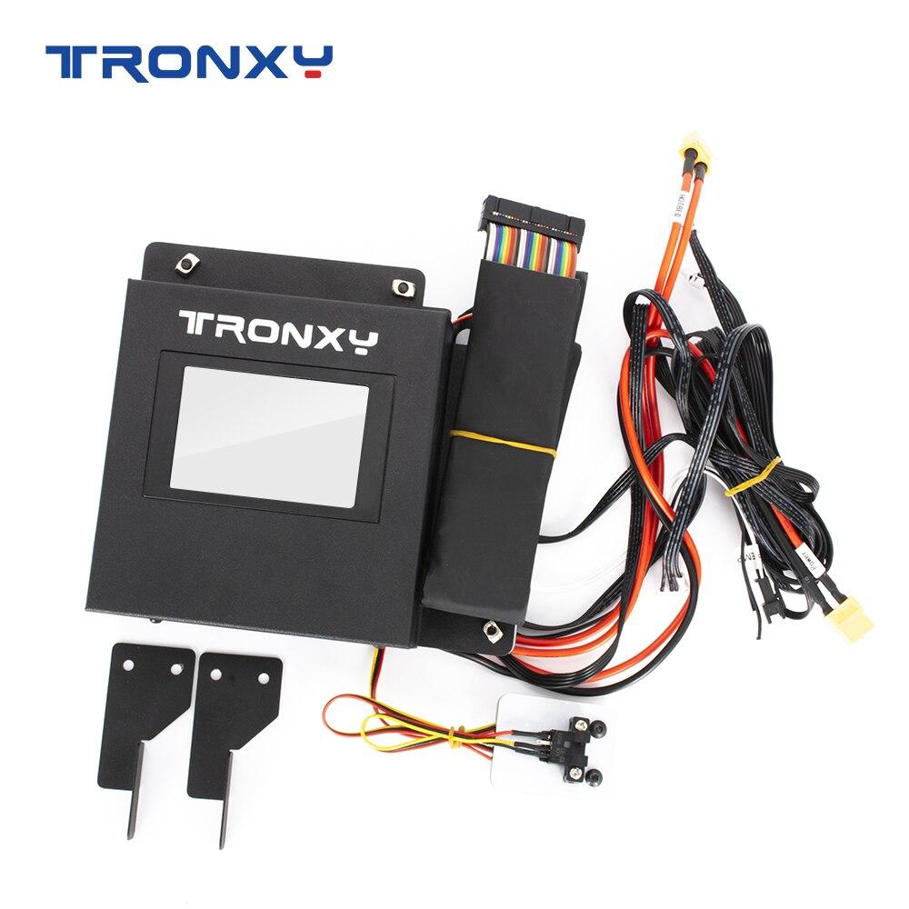 Tronxy 3D Machine accessoires X5SA-500/X5SA-500 PRO mis à niveau Kits Double fin de course 3.5 pouces écran tactile Silence carte mère