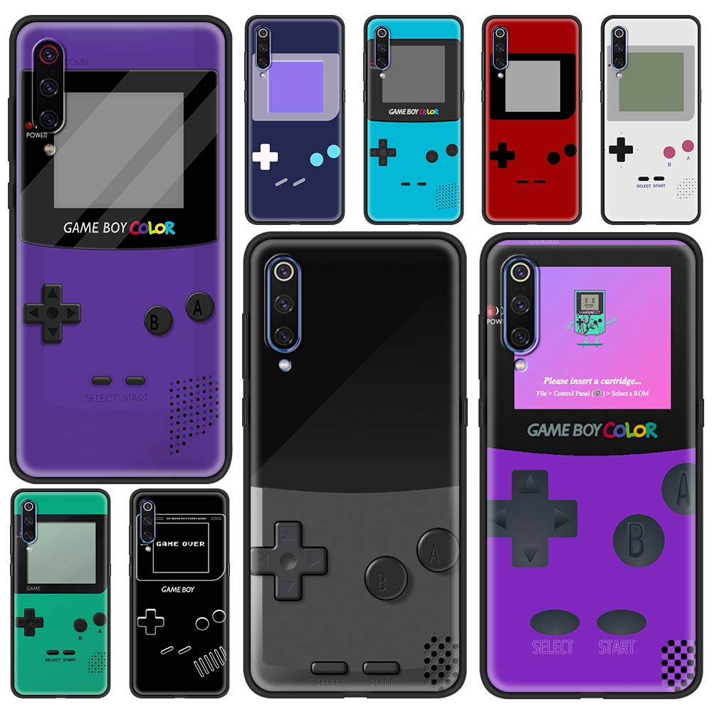 Phone Case for Xiaomi Mi 11 Poco X3 NFC M3 10 9 Pro 5G 9SE 9T Note 10 Pro 9 8 Lite X2 M3 Shell Coque Display Retro Gameboy