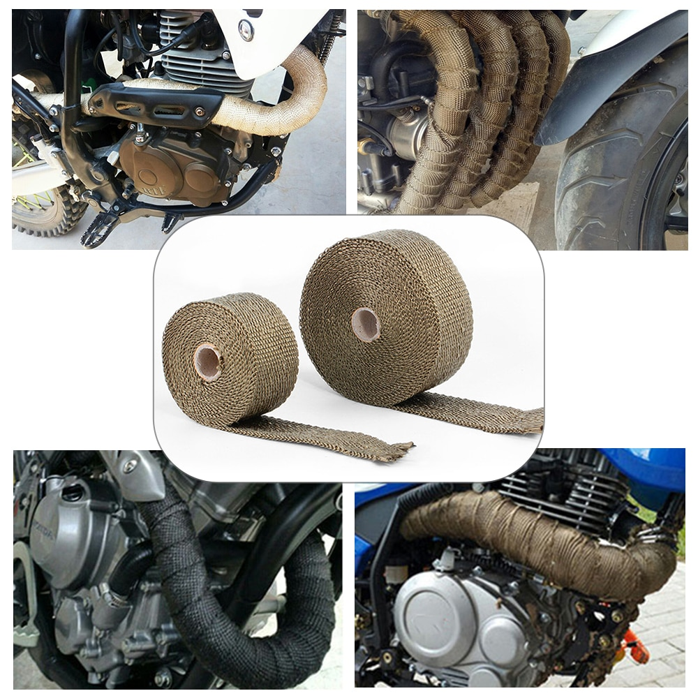 Cubiertas de escape para motocicleta honda cb125r, portamiculares yamaha xvs 650 suzuki gsx s 750 yamaha virago 535