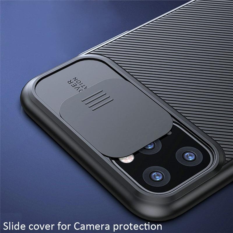 Противоударный чехол для телефона с защитой от скольжения для iPhone 11 Pro, XS Max, X, XR, 6, 6S, 7, 8 Plus, Твердый Мягкий силиконовый чехол из ТПУ