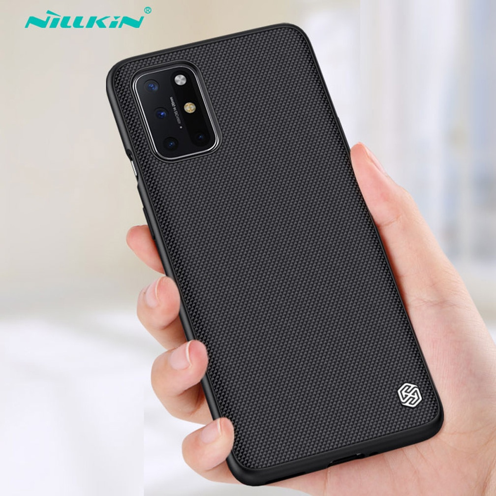 For OnePlus 8T Case One Plus 8T Cover NILLKIN Textured Nylon Fiber Case For OnePlus 8T 5G Case Durab