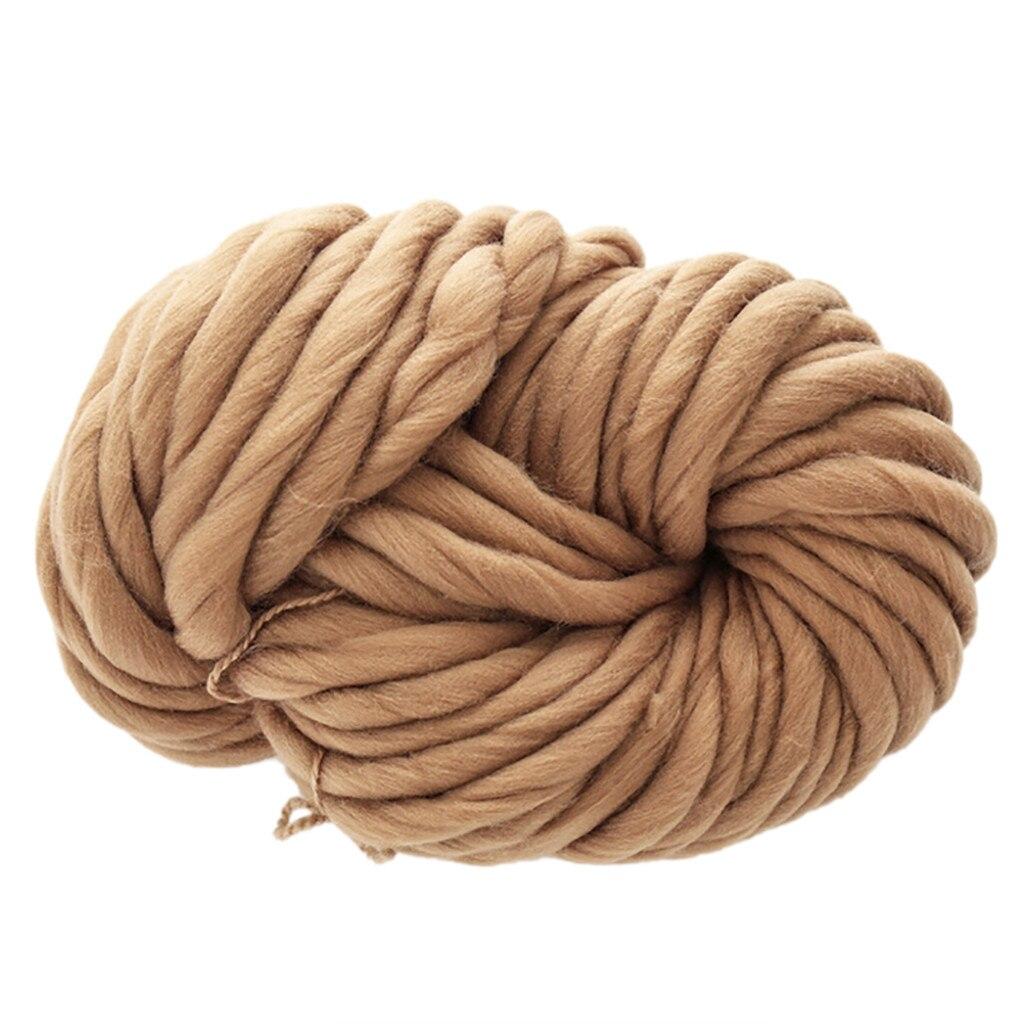 Bufanda de hilo de lana suave gruesa Multicolor sombrero cálido hogar hilos para tejer a ganchillo crochet para tejer 2020