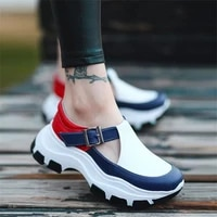 womens new sandals comfortable fashion casual womens shoes thick soled wedge high heels large size outdoor sandal platform