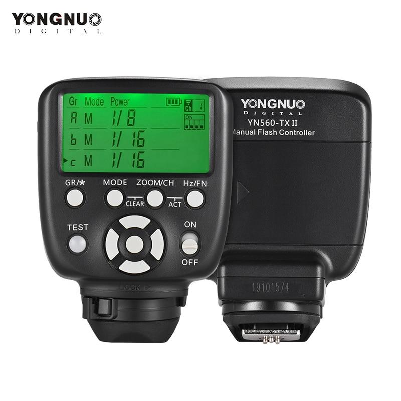 YONGNUO YN560-TX اللاسلكية فلاش الزناد تحكم Trasmitter ل Yongnuo YN-560III YN560IV RF-602 RF-603 II لكانون نيكون