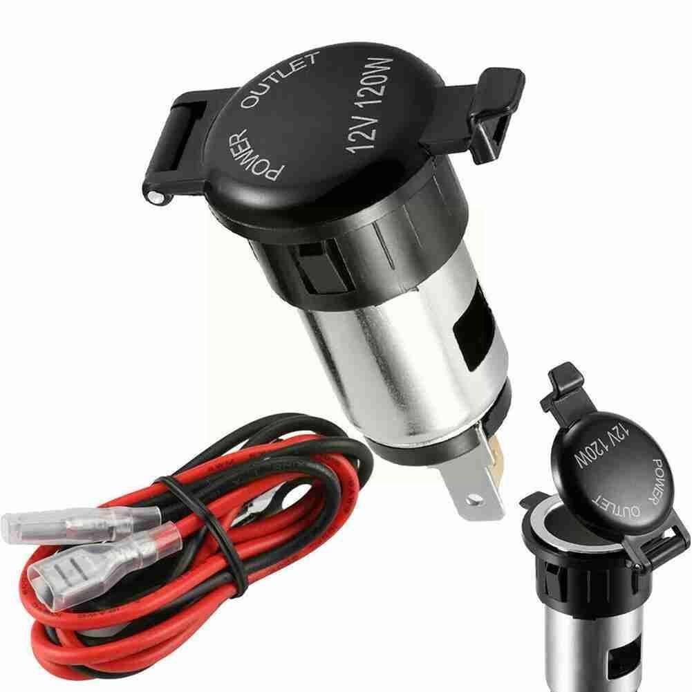 12v Car Motor Cigarette Cigar Lighter Socket Charger Power Supply Outlet Waterproof Cover Case for A
