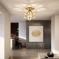 nordic modern bedroom led frosted polygonal corridor aisle night light study eye protection hotel lighting