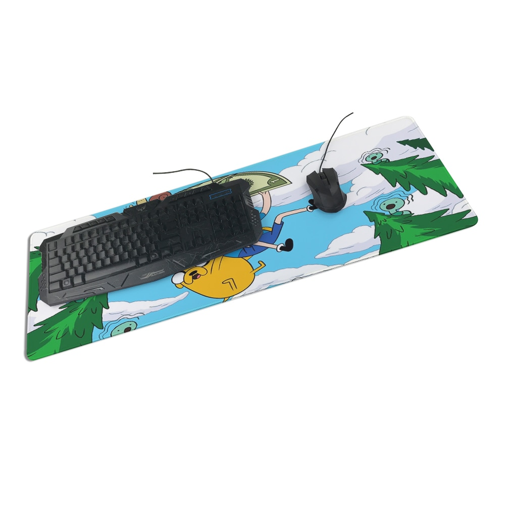 Congsipad aventura 800x300x2mm pad a ratón de ordenador portátil Mousepad mejor oferta juego almohadilla ratón jugador a 90x30cm ratón