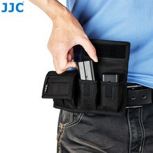 JJC-sac de poche à batterie, sac pour Sony, haute gamme, haute gamme, haute gamme, haute gamme, haute performance, NP-F550 Nikon, NP-FW50,