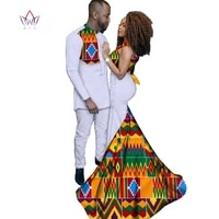 fashion african clothing dresses for women ankara style batik prints mens suit lady sexy dress couples lover clothing wyq52
