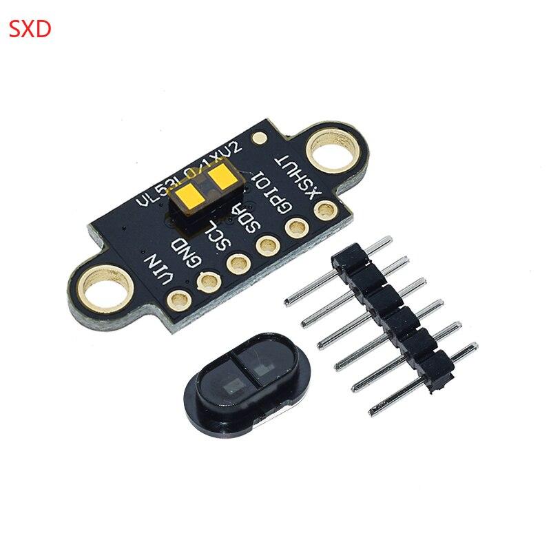 Nueva llegada VL53L1X láser rango de vuelo tiempo Sensor módulo distancia 400cm medición módulo de extensión de placa