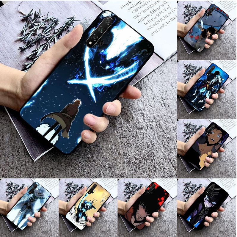 Anime solo leveling High Quality Silicone Phone Case for huawei nova 2 2i 2plus 2s 3i 3e 4 4e 5 5i pro case