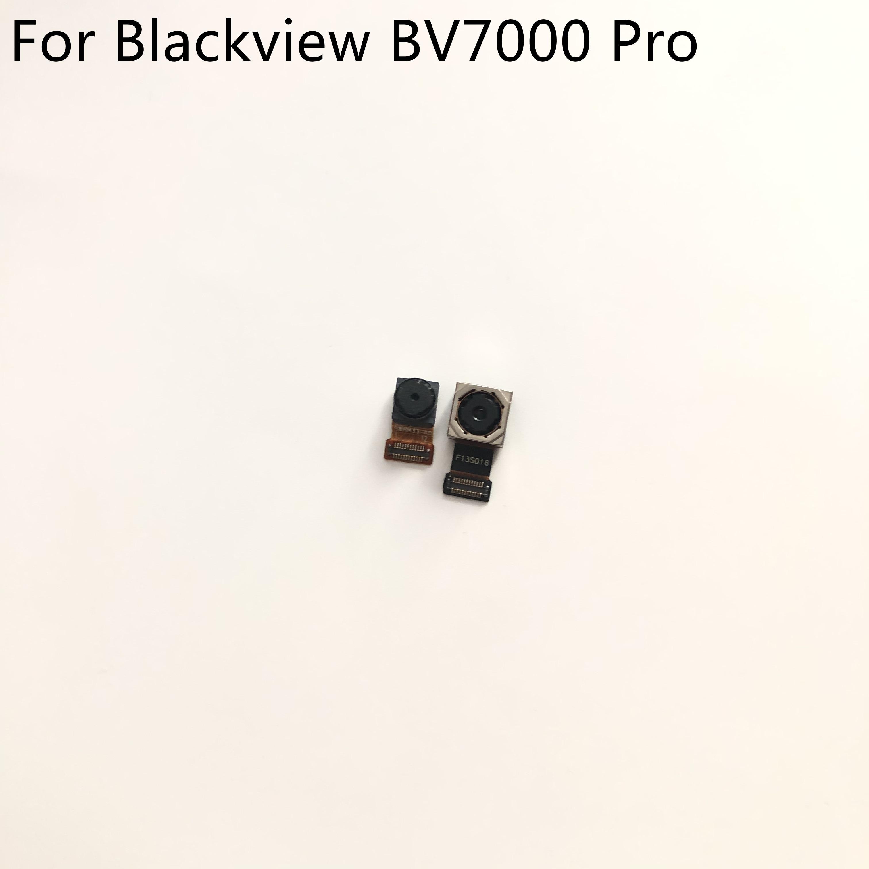 Original usado câmera frontal 5.0mp + voltar câmera 13.0mp módulo para blackview bv7000 pro mtk6750e 5.0 polegada 1920x1080 frete grátis