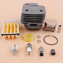 52mm Cilinder Zuiger Air Fuel Filter Motor Kit Voor HUSQVARNA 268 272 XP 272K 272XP Kettingzaag Motor Onderdelen