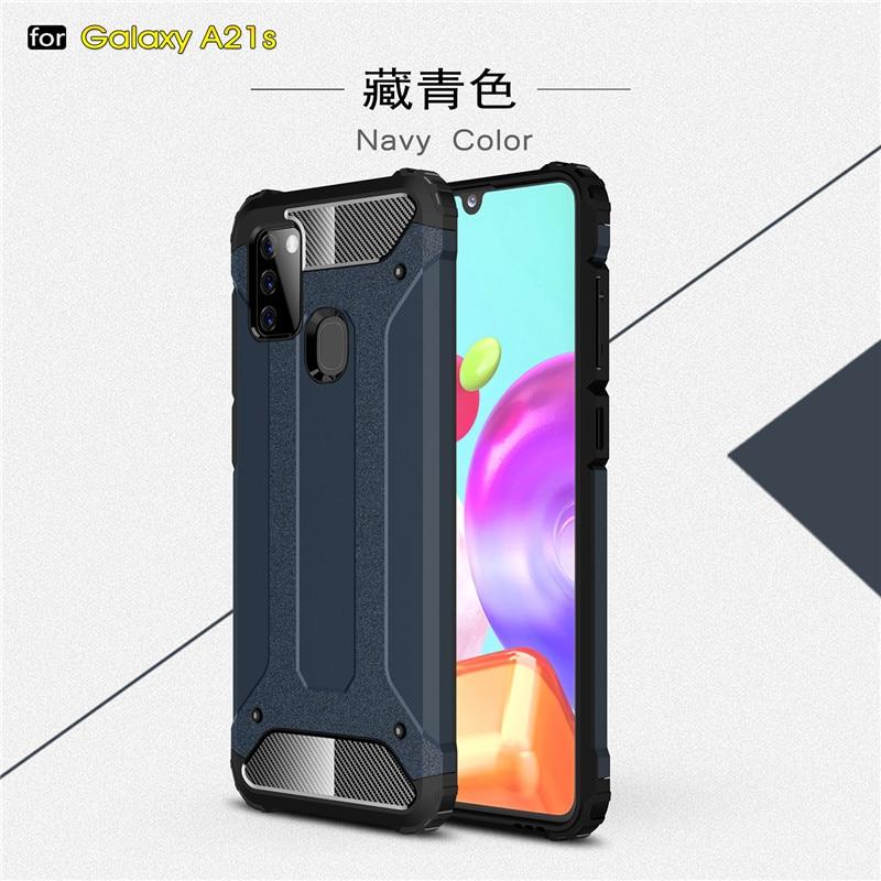 Para cubrir Samsung Galaxy A21S caso para Samsung A21S cubierta para Samsung A71 A51 A31 A41 A11 M01 M21 M31 M11 S20 Ultra A21S Fundas