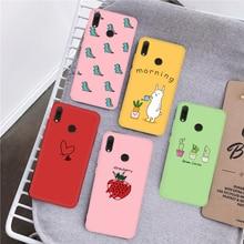 Silicone Case For Xiaomi Mi 9 SE Mi 8 A2 Mi8 Lite Mi 9T Pro 9 6X Cartoon Phone Bumper Case On Mi 9 9
