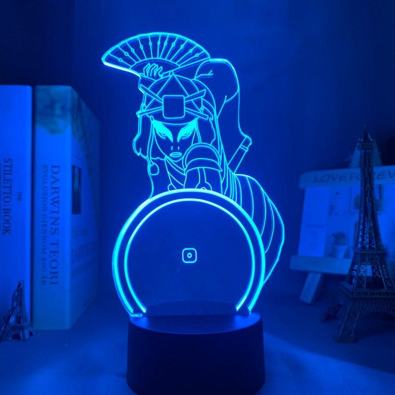 Аватар, Последний Воздушный Бандер, Suki, лампа для домашнего декора, подарок на день рождения, светодиодный ночник, Аватар, декоративный свет...