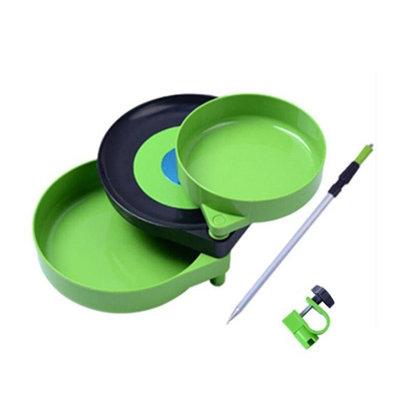 Novo 3 em 1 mão bandeja de pesca ferramenta armazenamento organizar caso plástico acessórios pesca magnética bandeja de pesca prático conveniente