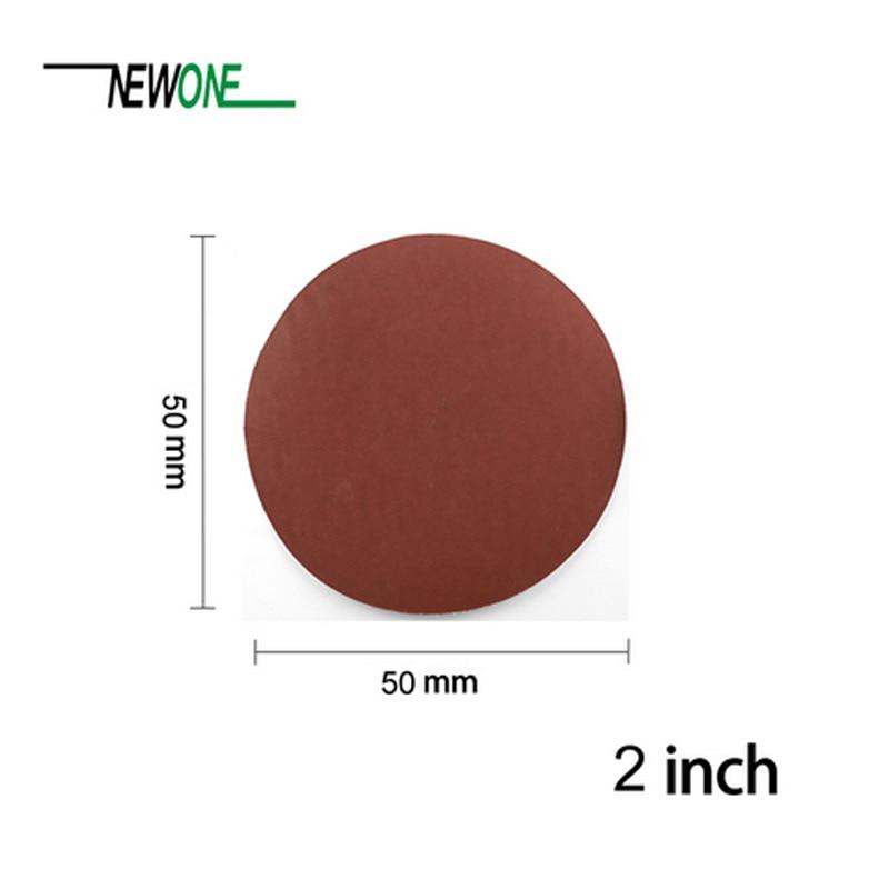 100 piezas de papel de lija de mezcla de 2 pulgadas y 50 mm en una - Herramientas abrasivas - foto 2