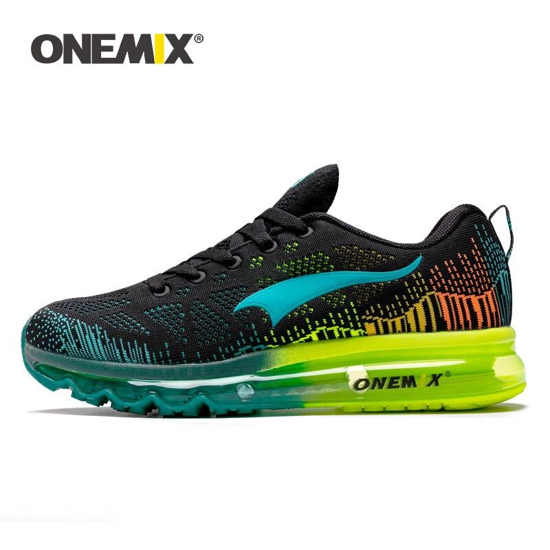 ONEMIX, zapatillas para correr para hombre, zapatillas deportivas de malla transpirable, zapatillas para caminar atléticas para mujer, calzado para correr al aire libre, tallas EU35-47