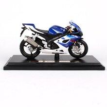 Maisto 1/18 118 échelle Suzuki GSX R1000 motos motos moulé sous pression modèles daffichage cadeau danniversaire jouet pour garçons enfants