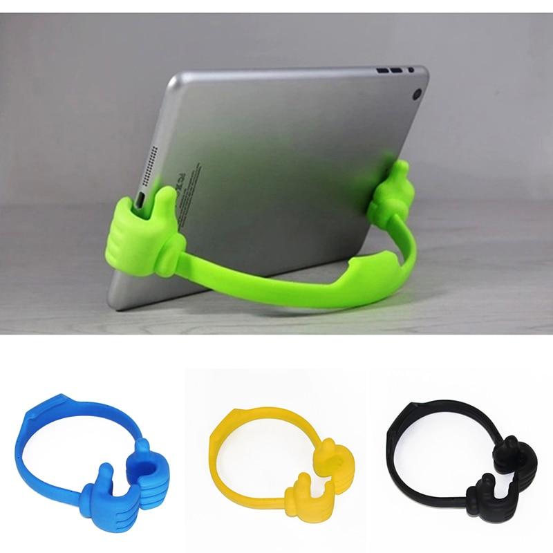 Soporte portátil de la tableta del pulgar del teléfono móvil stents para Lenovo ZP A5 K320t K5 K8 Note 2018 Play S5 Pro K5s K9 Z5s Plus