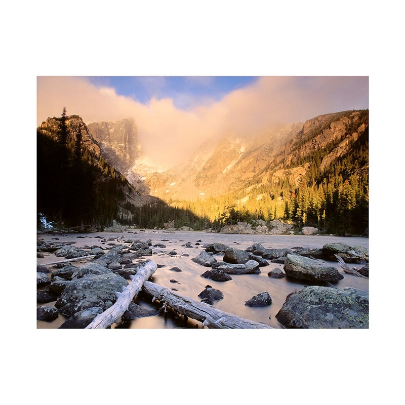 7*5/5*3Feet Mountain River Photographic Backdrops Photo Cloth Frameless Photography Background Cloth for Camera Photo Studio