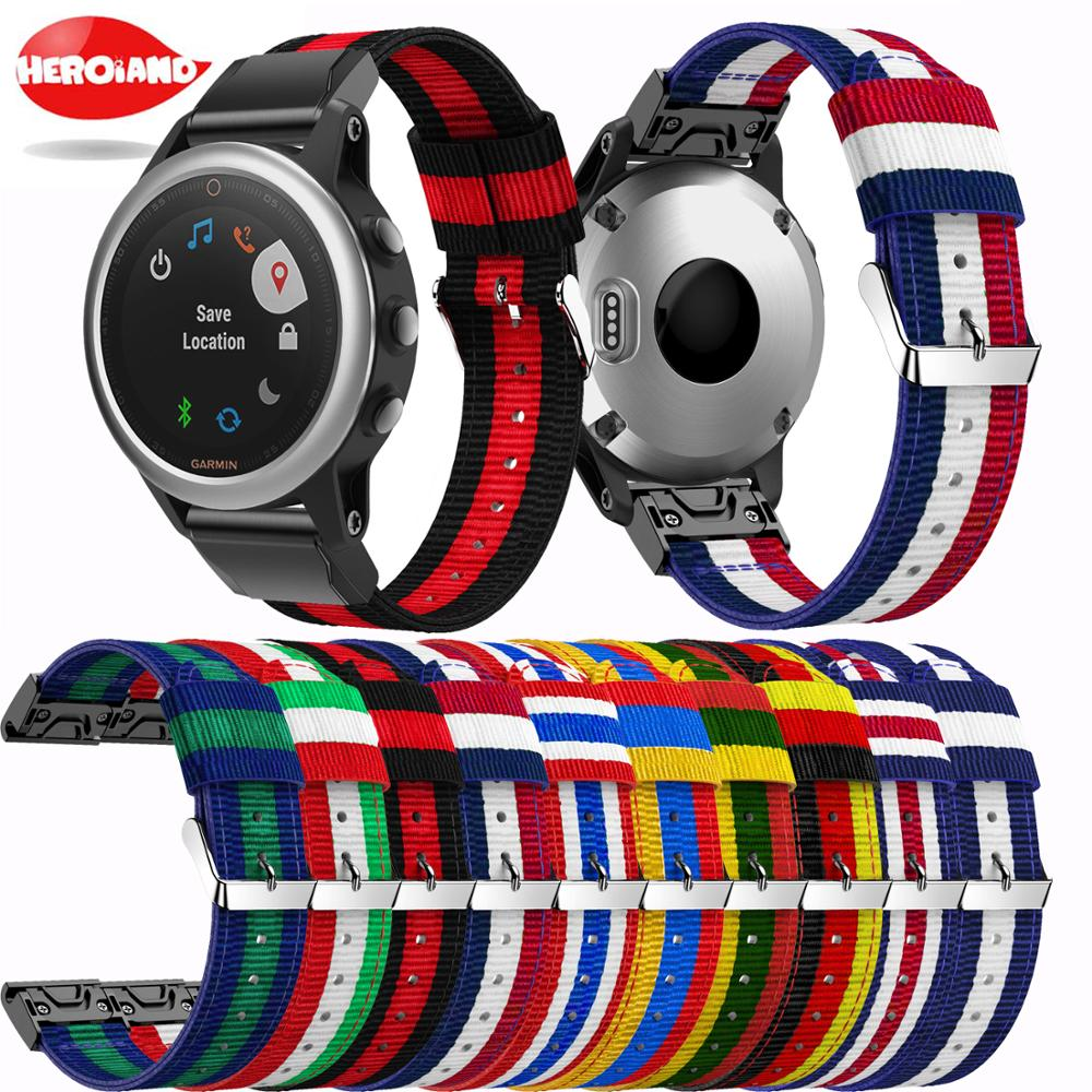 milanese loop band for garmin fenix 5s watch strap quick release stainless steel link bracelet watchband for garmin fenix 5s For Fenix 5S QuickFit fashion style Watch Band Lightweight Nylon Loop Soft Sport Breathable Wrist band Strap for Garmin Fenix 5S