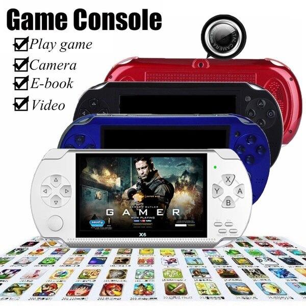 Tiptop-consola de juegos para niños, consola portátil de 4,3 pulgadas, 8GB, 32...