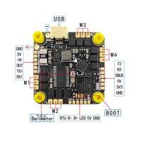 Контроллер полета BLHELI _ S 20A/35A ESC AIO, 25,5 мм, HAKRC F4126 MPU6000 F411, для радиоуправляемых FPV фристайл, зубочисток, Cinewhoop дронов