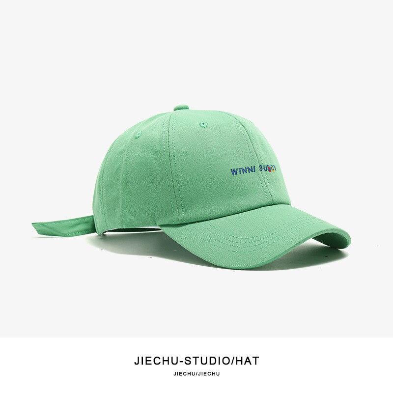 Korea Women Letter Baseball Cap Summer Men Peaked Embroidery Casual Hip-hop Hat  Outdoor Adjustable Fashion Sun