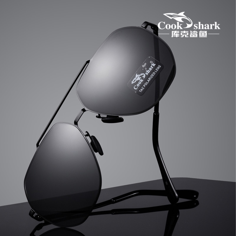 Cook Shark 2020 new nylon polarized sunglasses sunglasses hipster driving sunglasses driver driving glasses