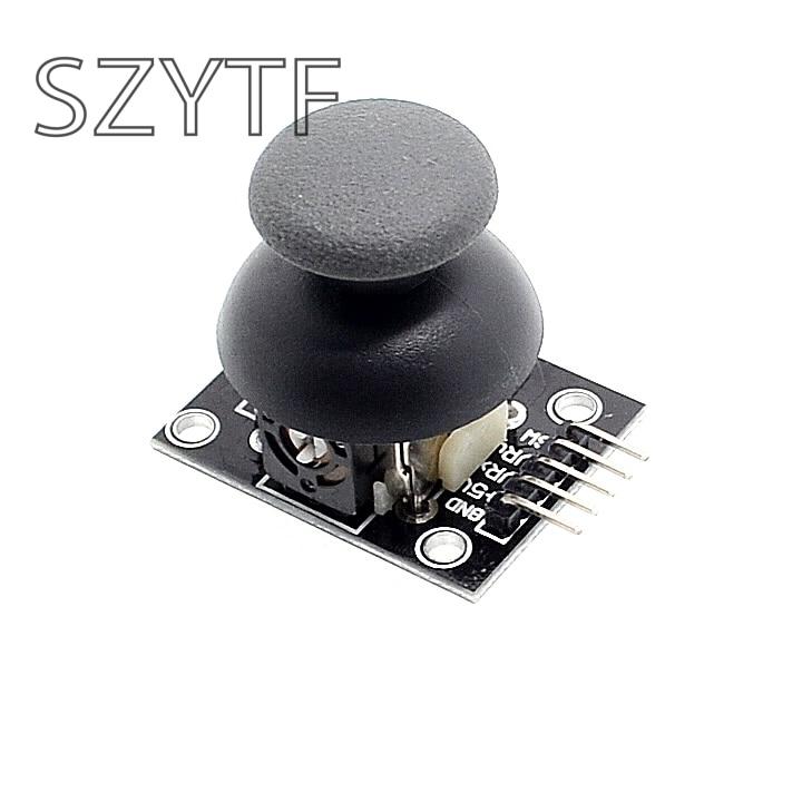 Двухосевой XY джойстик модуль PS2 джойст
