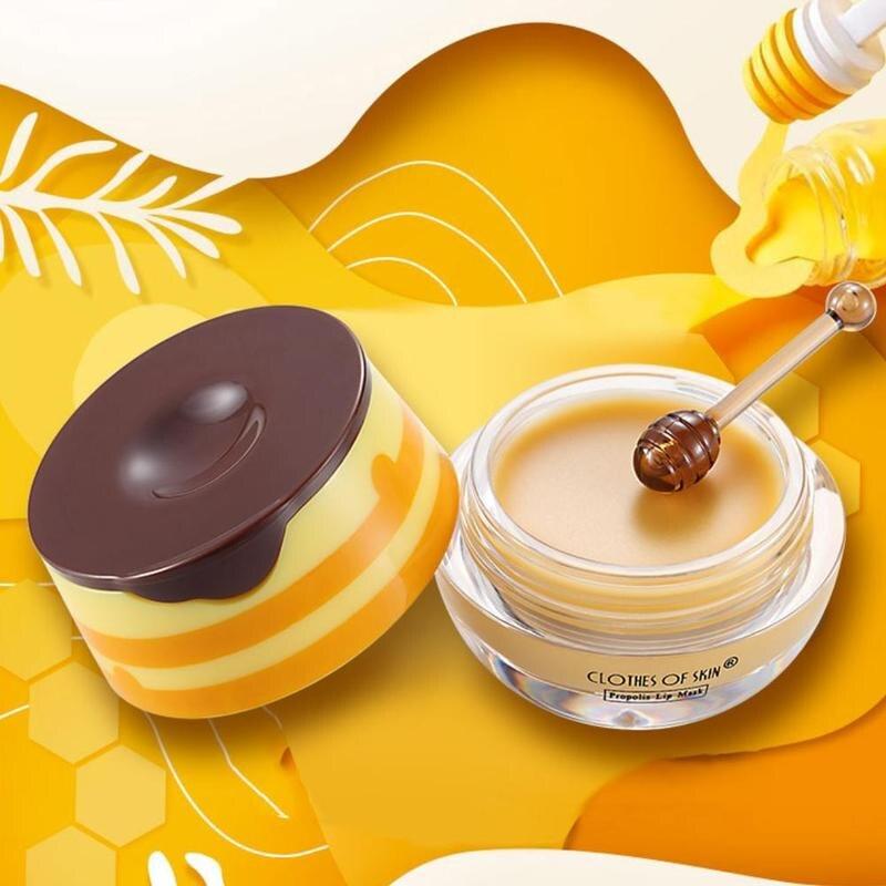 Propolis Lip Mask Moisturizing Nourishing Dead Skin Membrane Coat Mask Anti Lip New Removal Hot Brush With Wrinkle Skin Lip