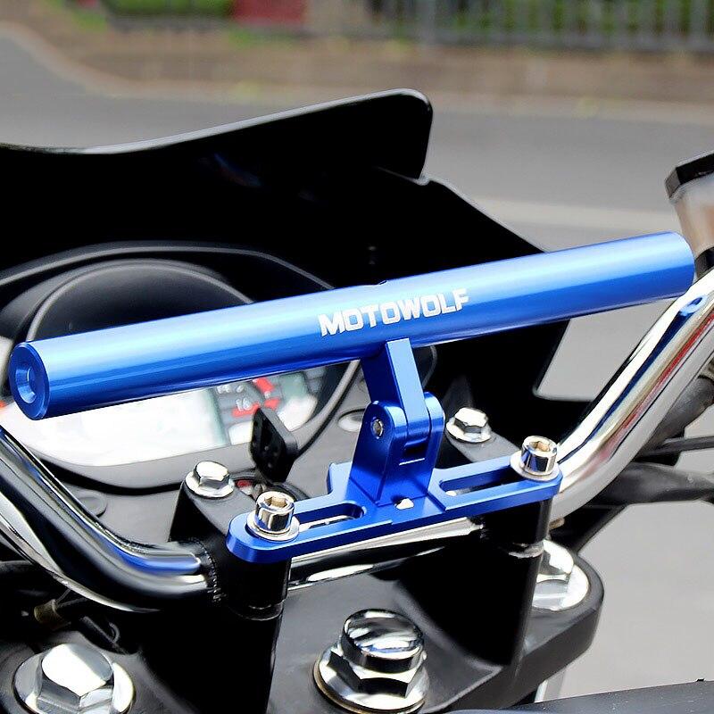 Motorcycle Mounting Bracket Light Expansion Phone Holder Handlebar Mount Moto  Riser Motocross Handlebars