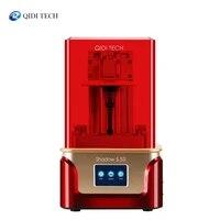 qidi tech sla lcd 3d printer shadow 5 5 s uv lcd resin printer with dual z axis liner rail build size 11565150mm