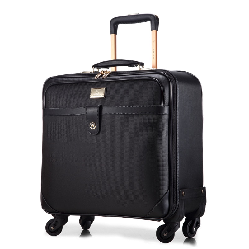 New fashion trolley suitcase set on wheels tide version spinner carry on brand valise women men travel rolling luggage bag