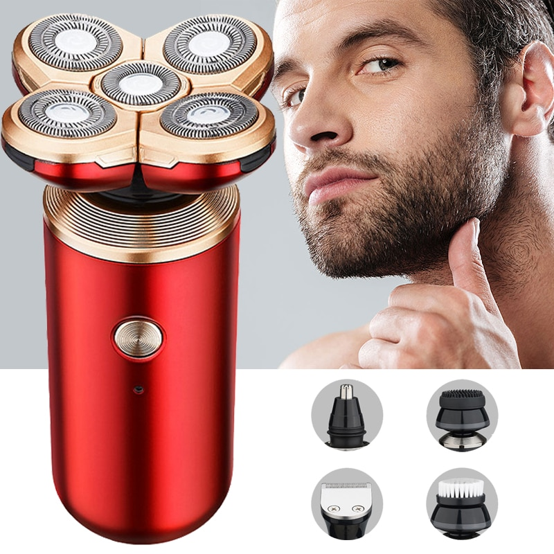 ماكينة حلاقة كهربائية للرجال الشعر المتقلب المقص تنظيف المهنية ماكينة حلاقة الحلاقة مقاوم للماء متعددة الوظائف أدوات للعناية الشخصية