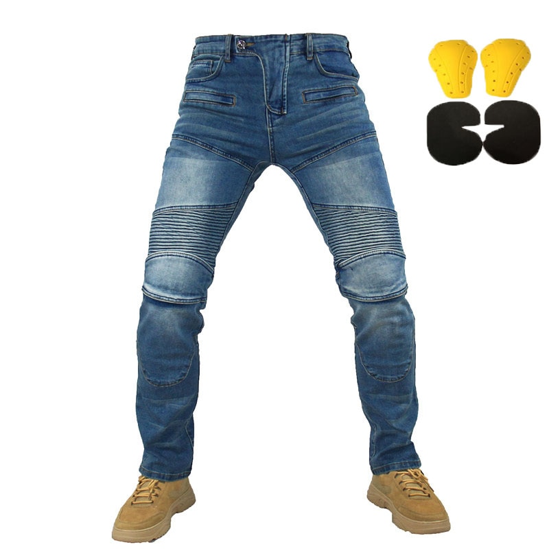 New 718 719 pants Motorcycle Pants Men Moto Jeans Protective Gear Riding Touring Motorbike Trousers Motocross Pants Moto Pants